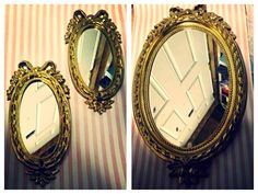 Awesome vintage mirrors