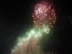 New Year's Eve fireworks in Helsinki