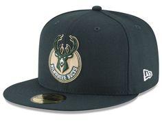Milwaukee Bucks New Era NBA Solid Team 59FIFTY Cap