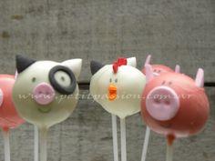 Cake Pops Animales de la Granja