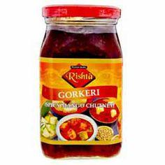 Gorkeri Pickle (Spicy Mango Chutney) - Rishta - 450g