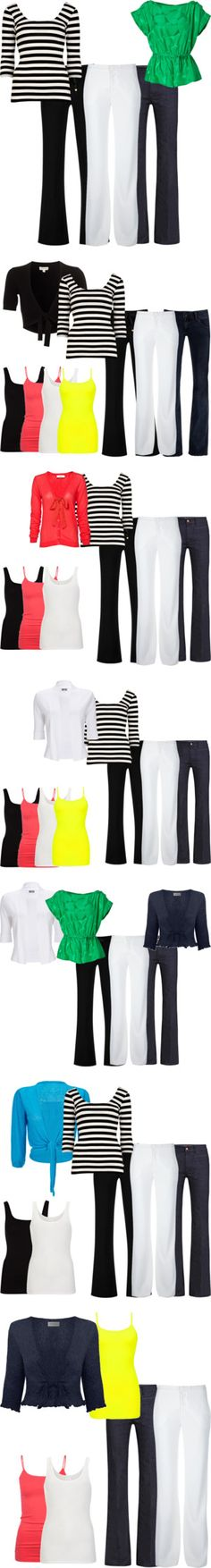 14 pieces - 72 outfits Core Wardrobe, Simple Wardrobe, Minimalist Wardrobe, Capsule Outfits, Capsule Wardrobe, Travel Wardrobe, Work Fashion, Fashion Outfits, Dyt Type 4 Clothes