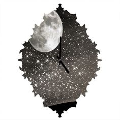 Shannon Clark Love Under The Stars Baroque Clock | DENY Designs Home Accessories