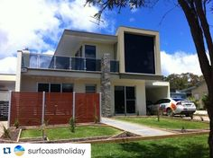 #Repost @surfcoastholiday  Looking for the very best quality #holiday accommodation? Look no further. This premium two storey four bed & three bath beach house with river views located only meters from #Anglesea River and offers the very best of everything for your summer or winter holiday.  Three outdoor living areas quality furnishings to add to the experience. One spacious inside living area with TV' FOXTEL & DVD's BBQ. Enclosed wood fire place for cosy winter nights. Carport. This one is…