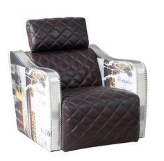 Barnes Decoupage Armchair