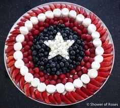Shower of Roses: Marvel's Avengers :: Captain America Birthday Party