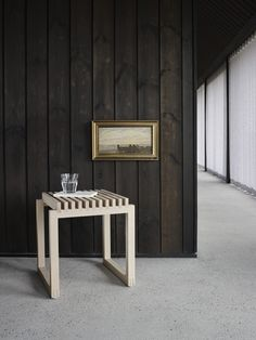 Oak Skagerak Cutter-jakkara 40 x 40 x cm Types Of Wood, Space Saving Storage, Small Wooden Stool, Coffee Table Alternatives, Simple Side Tables, Office Waiting Room Chairs, Indoor, Wooden Stools, Oak