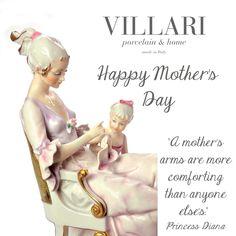 #HappyMothersDay #MothersDay #mother #Villari #porcelain #luxury #madeinitaly #handmade