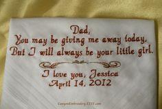 Wedding gift for daddies