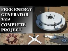 Free Energy Generator 2015 - Works 100% (including project) - YouTube