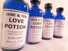 love potion favors
