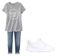 """Untitled #67"" by olilandy on Polyvore featuring Alexander Wang, Old Navy and NIKE"