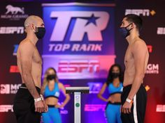Weigh-In Results: Jose Pedraza vs. Javier Molina TOMORROW at 7:30 p.m. ET / 4:30 p.m. PT live on ESPN+ from the MGM Grand Conference Center – Grand Ballroom (Las Vegas)  • CLICK HERE for PHOTOS (Photo Credit: Mikey Williams / Top Rank)• CLICK HERE for VIDEO (Courtesy: Top Rank/For TV Use Only) (ESPN+ 7:30 p.m. ET / 4:30 p.m. PT)     •     José Pedraza 141.5 lbs vs. Javier Molina 141.7 lbs  (Junior Welterweight — […] The post Jose Pedraza vs. Javier Molina &  Efe Ajagba vs. Jonni