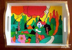 32 New Ideas For Modern Art Deco Painting Decorating Ideas Art Deco Stil, Modern Art Deco, Pottery Painting Designs, Pottery Art, Art Deco Paintings, Simple Paintings, Painting Art, Art Deco Living Room, Kindergarten Art Projects