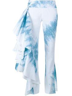 ROSIE ASSOULIN Tie-Dye Fiesta Trousers. #rosieassoulin #cloth #trousers
