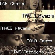 Divergent, Insurgent, Alleigent