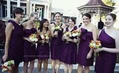 JENNA! I think these dresses and colors are super cute! Even the flowers are perfect!