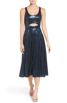 Jay Godfrey 'Wells' Cutout Sequin Fit