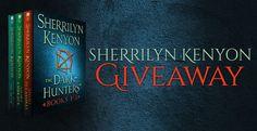 #ParanormalRomance #Giveaway – Win Any #SherrilynKenyon Novel! #kindle #amreading