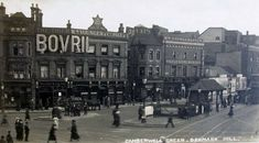 The Bovril Pub At Camberwell Green, Camberwell South East London England Camberwell London, Old Pictures, Old Photos, Vintage Photos, Old London, East London, London History, Forest Hill