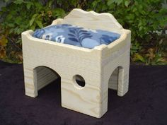 Chinchilla Dwellings & Houses - One-of-a-kind and creative accessories for your chinchilla's habitat. Chinchilla cage toys and activities. Diy Rat Toys, Pet Toys, Chinchilla Toys, Small Animal Cage, Degu, Pet Cage, Bird Toys, Diy Stuffed Animals, Pet Accessories