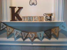 paper fall banners | Amanda's Paper Creations: FALL BLESSINGS BANNER