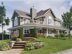 Love the exterior...first floor plan could be a little more open concept
