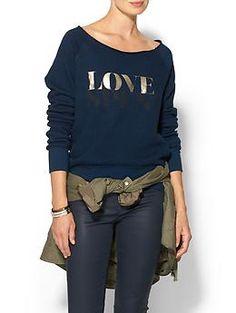 Pam & Gela Love Spent Sweatshirt | Piperlime