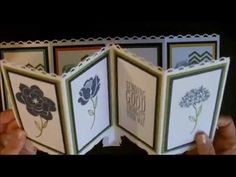 ▶ Screen Card using Work of Art with Deb Valder - YouTube
