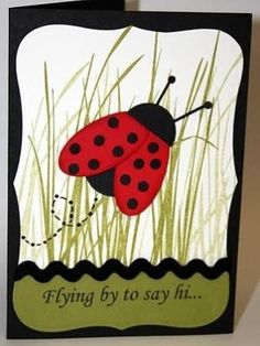 Lady Bug Card by jodi