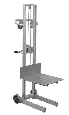 Vestil Aluminum Lite Load Lift with Winch - High quality hand trucks for the lowest price! Look no further top notch hand trucks. Metal Working Tools, Metal Tools, Metal Projects, Welding Projects, Home Tools, Diy Tools, Lifting Devices, Lift Table, Garage Tools