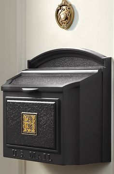 Enjoy Mail Delivery Right By Your Door With The Monogrammed Wall Mount Mailbox