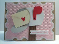 Cricut; Valentine's Day Card; Doodlecharms; Elegant Edges; CTMH Artiste