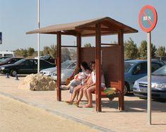 Marquesina parada BUS - Todo en equipamiento de playas | BEACH TROTTERS