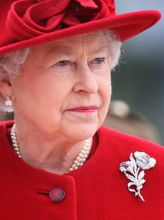 Queen Elizabeth II arrives at the Presidential Palace on the first day of a tour of Slovakia on October 2008 in Bratislava, Slovakia. The Queen and the Duke are on a two day tour of Slovakia at the invitation of President Ivan Gasparovic. Hm The Queen, Royal Queen, Her Majesty The Queen, Save The Queen, Queen Hat, Isabel Ii, Elisabeth, Queen Of England, Queen Mother
