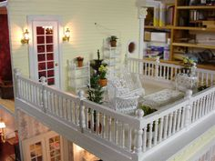 Barbie Doll House, Barbie Dolls, Conservatory Ideas, Miniature Houses, Popsicle Sticks, Little Houses, Dollhouses, Artist At Work, Over The Years