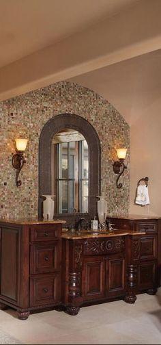 Bathroom Vanity In Spanish italian villa i | tuscan + spanish + old world | pinterest