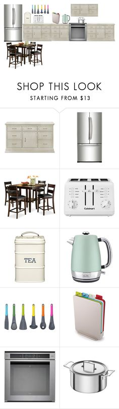 """""""house series #kitchen"""" by aaisha123 ❤ liked on Polyvore featuring Franklin, Samsung, Cuisinart, Breville, Joseph Joseph, Whirlpool, Zwilling and kitchen"""