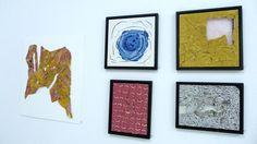 Artur Slama | Composição - 55 x 60cm | Composição Azul - 40 x 40 cm | Composição Amarelo - 40 x 40 cm | Composição Rosa - 40 x 30cm | Composição Preto e Branco - 30 x 40cm