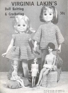 Virginia Lakin's Doll Knitting & Crocheting Book 11 - http://crissyandbeth.com/sew/71Lakin.pdf