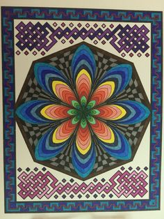 BD illustration: Mandalas Deluxe Edition 4 books in one: Mesmerizing Mandalas by Randall McVEY found at Michael's UPC: 0075977931 or 780486779317