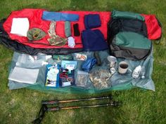 Backpacking Gear...for a 3 day trek