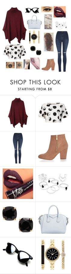 """""""Jenny"""" by cri-bad on Polyvore featuring Être Cécile, George, River Island, Fiebiger, Kate Spade, Givenchy and Style & Co."""