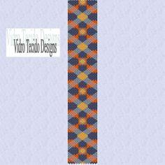 Mosaic 4 Peyote Pattern by vidrotecido on Etsy, $2.00