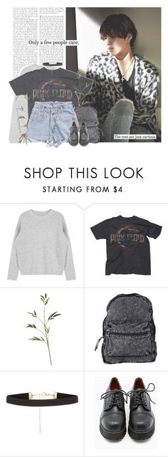 """""""Taemin: only a few people care. the rest are just curious."""" by yxing ❤ liked on Polyvore featuring Chaser, Agent Ninetynine, New Look, Sixtyseven, kpop, shinee and taemin"""