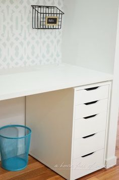 ikea drawers office. su0026d ikea alex drawer unit home office makeover reveal drawers