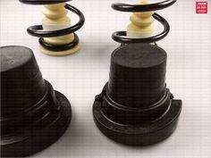 Muelles de suspensión mecánica para sustitución de la suspensión neumática para CITROËN PICASSO C4