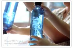 Make your own jellyfish in a bottle.