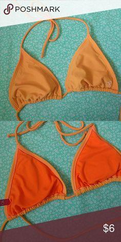 Orange Triangle Bikini Top Simple orange bikini top OP Swim Bikinis