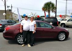 Take a look at this nice GM Certified 2015 Chevrolet Malibu that Richard and Regina Mitchell of Theodore, AL now own! We congratulate them and thank them for their business. Mike Collins, our Internet Manager, assisted with their purchase.